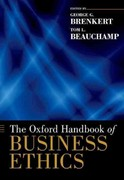 The Oxford Handbook of Business Ethics 1st Edition 9780199916221 0199916225