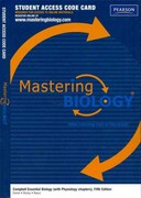 MasteringBiology -- Standalone Access Card -- for Campbell Essential Biology (with Physiology chapters) 5th edition 9780321791702 0321791703