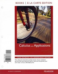 Calculus with Applications, Books a la Carte Plus MML/MSL Student Access Code Card (for ad hoc valuepacks) 10th Edition 9780321759542 0321759540