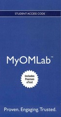 NEW MyOMLab with Pearson eText -- Access Card -- for Operations Management 10th edition 9780132940474 0132940477