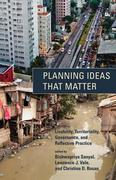 Planning Ideas That Matter 1st Edition 9780262304795 0262304791