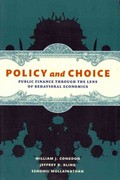 Policy and Choice 1st Edition 9780815722588 0815722583