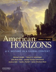 American Horizons 1st Edition 9780195369526 0195369521
