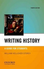 Writing History 4th edition 9780199830046 0199830045