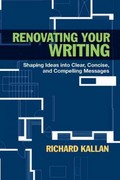 Renovating Your Writing 1st edition 9780205254392 020525439X