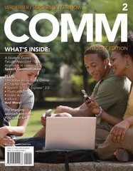 COMM 2 2nd Edition 9780495914495 0495914495