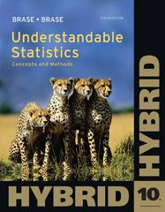 Understandable Statistics 10th edition 9781111574444 1111574448