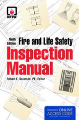 Fire and Life Safety Inspection Manual 9th Edition 9781449641979 1449641970