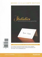 Statistics, Books a la Carte Edition plus NEW MyStatLab with Pearson eText-- Access Card Package 3rd edition 9780321729545 0321729544