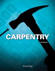 Carpentry 6th Edition 9781133607366 1133607365