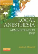 Malamed's Local Anesthesia Administration DVD 2nd Edition 9780323089166 032308916X