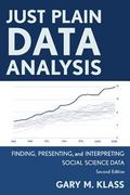 Just Plain Data Analysis 2nd Edition 9781442215085 1442215089