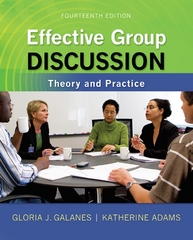 Effective Group Discussion 14th edition 9780073534343 007353434X
