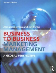 Business to Business Marketing Management 2nd Edition 9780415537032 0415537037