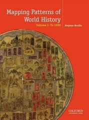 Mapping the Patterns of World History 1st Edition 9780199856381 0199856389
