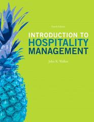 Introduction to Hospitality Management 4th Edition 9780132959940 0132959941