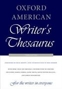 Oxford American Writer's Thesaurus 3rd Edition 9780199829927 0199829926