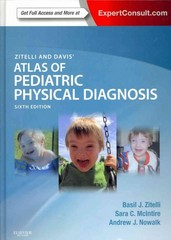 Zitelli and Davis' Atlas of Pediatric Physical Diagnosis 6th Edition 9780323079327 0323079326