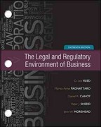 Loose-Leaf for Legal and Regulatory Environment 16th edition 9780077437336 0077437330