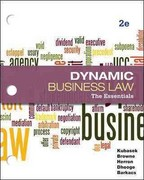 Loose-Leaf Business Law: The Essentials 2nd edition 9780077437428 007743742X
