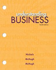 Understanding Business (Loose Leaf) 10th edition 9780077474515 0077474511
