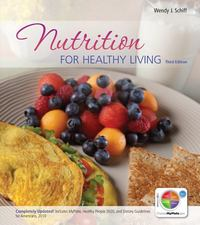 Combo: Loose Leaf Version of Nutrition for Healthy Living with Connect Plus 1 Semester 1st Edition 9780077919689 0077919688