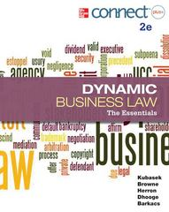 Dynamic Business Law 2nd edition 9780077630430 0077630432