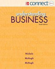 Understanding Business with Connect Plus 10th edition 9780077630737 0077630734