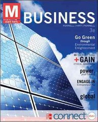 M: Business with Connect Plus 3rd edition 9780077924881 0077924886