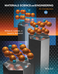 Materials Science and Engineering 9th Edition 9781118476543 1118476549