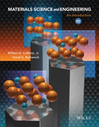 Materials Science and Engineering 9th Edition 9781118324578 1118324579
