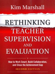Rethinking Teacher Supervision and Evaluation 2nd Edition 9781118336724 1118336720