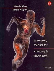 Laboratory Manual for Anatomy and Physiology 5th Edition 9781118344989 1118344987