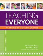 Teaching Everyone 1st Edition 9781598572124 1598572121