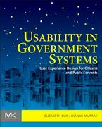 Usability in Government Systems 1st Edition 9780123910653 012391065X