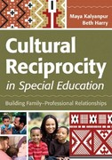 Cultural Reciprocity in Special Education 1st Edition 9781598572315 1598572318