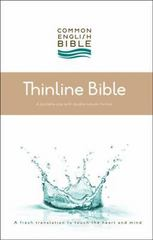 CEB Common English Thinline Bible Hardcover 1st Edition 9781609261023 160926102X