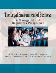 The Legal Environment of Business 1st Edition 9781468086836 1468086839