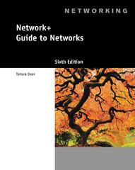 Network+ Guide to Networks (with Printed Access Card) 6th Edition 9781133608196 1133608191