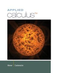 Applied Calculus 6th Edition 9781285415314 1285415310