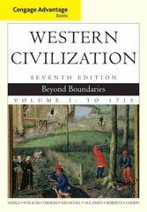 Cengage Advantage Books: Western Civilization 7th Edition 9781285661544 1285661540