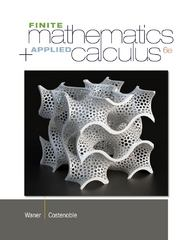 Finite Math and Applied Calculus 6th Edition 9781133607700 1133607705