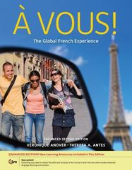 A Vous!: The Global French Experience, Enhanced 2nd Edition 9781133611011 113361101X