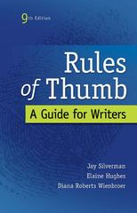 Rules of Thumb 9th Edition 9780073405964 0073405965