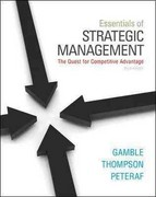 Loose-Leaf Essentials of Strategic Management 3rd edition 9780077492717 0077492714