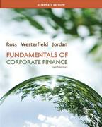 Looseleaf Fundamentals of Corporate Finance Alternate Edition + Connect Plus 10th edition 9780077924850 0077924851