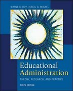 Educational Administration: Theory, Research, and Practice 9th Edition 9780078024528 0078024528