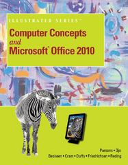 Computer Concepts and Microsoft Office 2010 Illustrated 1st edition 9781133611547 1133611540
