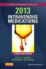 2013 Intravenous Medications 29th Edition 9780323084819 0323084818