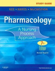 Study Guide for Pharmacology 7th Edition 9780323293495 0323293492